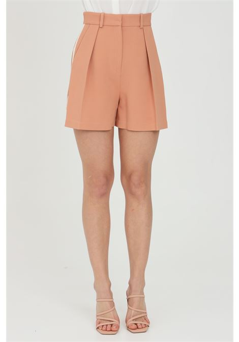 Bicolor shorts with high waist ELISABETTA FRANCHI | Shorts | SH00413E2W77