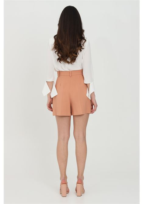 Shorts bicolor a vita alta ELISABETTA FRANCHI | Shorts | SH00413E2W77