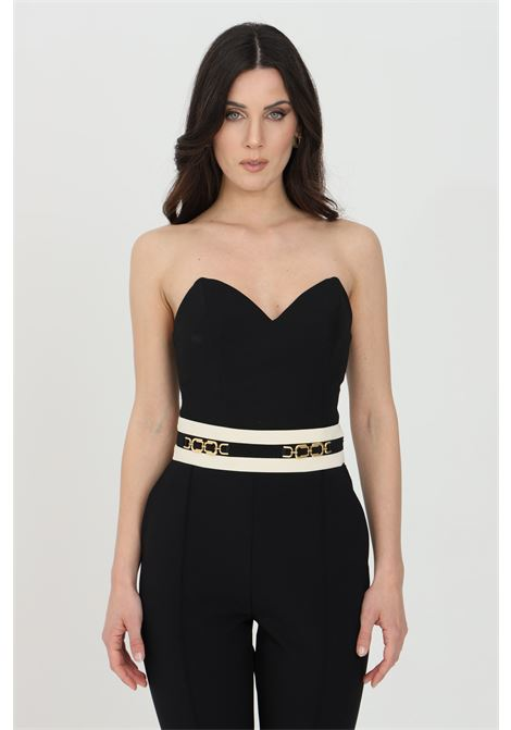 Bustier with diamond neckline ELISABETTA FRANCHI | Top | TO01411E2110