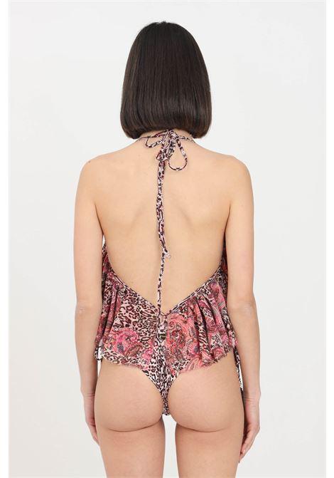 Costume donna animalier f**k bikini top e slip F**K | Beachwear | F21-0583X1.
