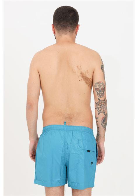 Costume uomo petrolio f**k shorts mare F**K | Beachwear | F21-2002PT.