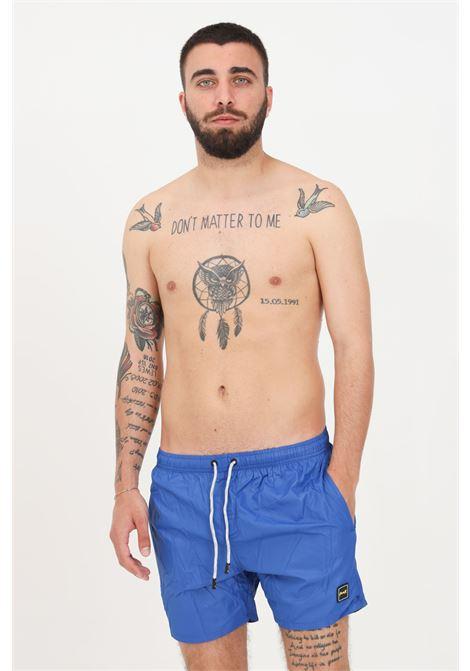 Costume uomo blu f**k shorts mare F**K | Beachwear | F21-2002RY.