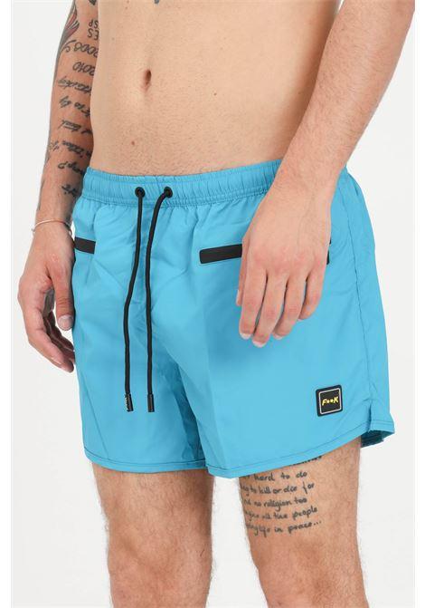 Costume uomo petrolio f**k shorts mare F**K | Beachwear | F21-2005PT.