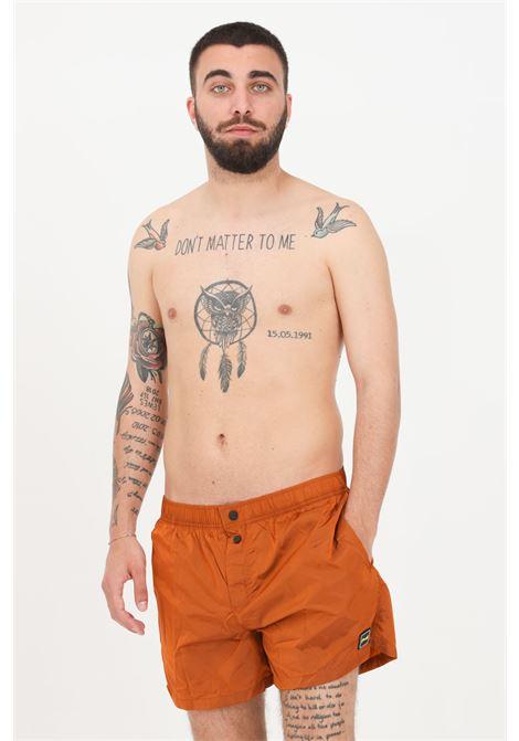 Costume uomo marrone f**k shorts mare F**K | Beachwear | F21-2007AR.