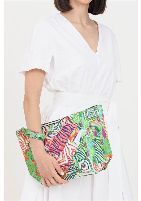 Pochette donna con stampa summer f**k con zip F**K | Borse | F21-A0019U.