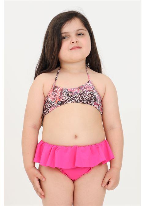Multicolor baby bikini f**k with ruffles F**K | Beachwear | FJ21-0021X1.