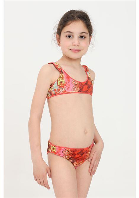 Costume bambina multicolor f**k bikini F**K | Beachwear | FJ21-0400X1.