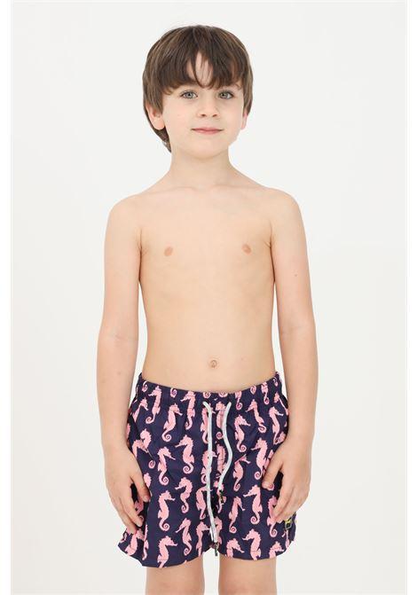 Purple baby beach shorts f**k F**K | Beachwear | FJ21-4017U.