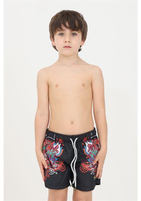 Black baby beach shorts f**k F**K | Beachwear | FJ21-4022U.