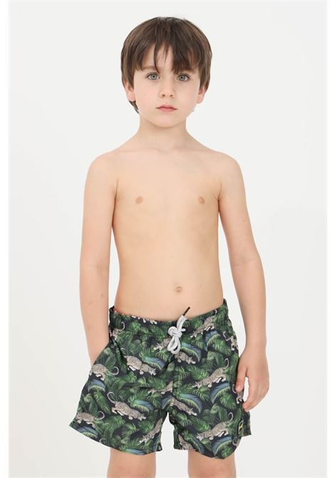 Green baby beach shorts f**k F**K | Beachwear | FJ21-4029U.