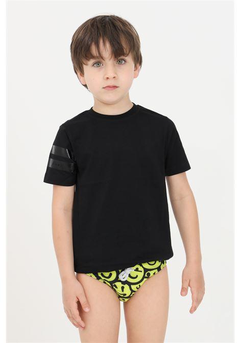 Black baby t-shirt short sleeve f**k F**K | T-shirt | FJ21-4109NR.