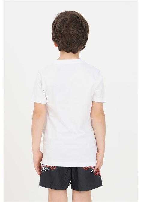 T-shirt bambino unisex bianco f**k a manica corta F**K | T-shirt | FJ21-4109WH.