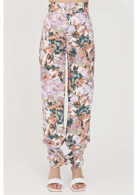 Flower casual trousers feminista FEMINISTA | Pants | CALLIOPEFANTASIA FIORI