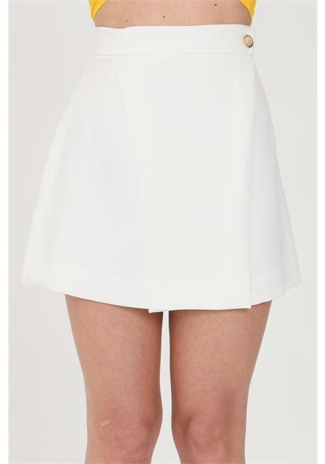 White short skirt feminista FEMINISTA | Skirt | GALATEABIANCO