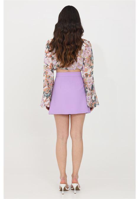 Lilac short skirt feminista FEMINISTA | Skirt | GALATEALILLA