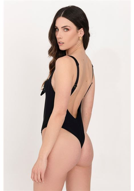 Black one piece swimsuit feminista FEMINISTA | Beachwear | GIUNONENERO