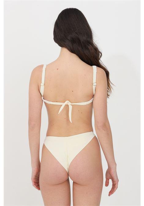 White beachwear swimsuit feminist  FEMINISTA | Beachwear | URANIAPANNA