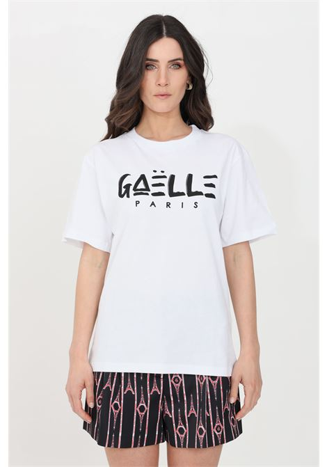 White t-shirt short sleeve gaelle GAELLE | T-shirt | GBD8291BIANCO