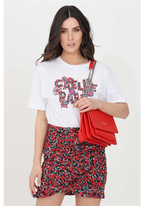 T-shirt donna bianco gaelle a manica corta GAELLE | T-shirt | GBD8417BIANCO