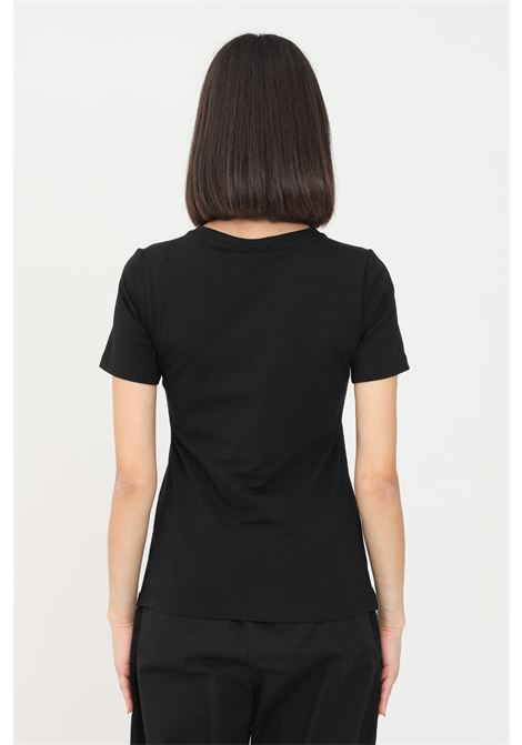 Black women's t-shirt by gaelle, short sleeves GAELLE | T-shirt | GBD8448NERO