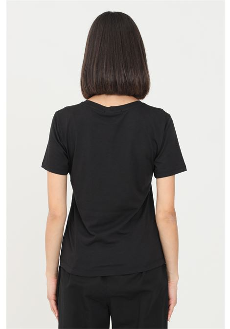 Black women's t-shirt by gaelle with print on the front GAELLE | T-shirt | GBD8629NERO