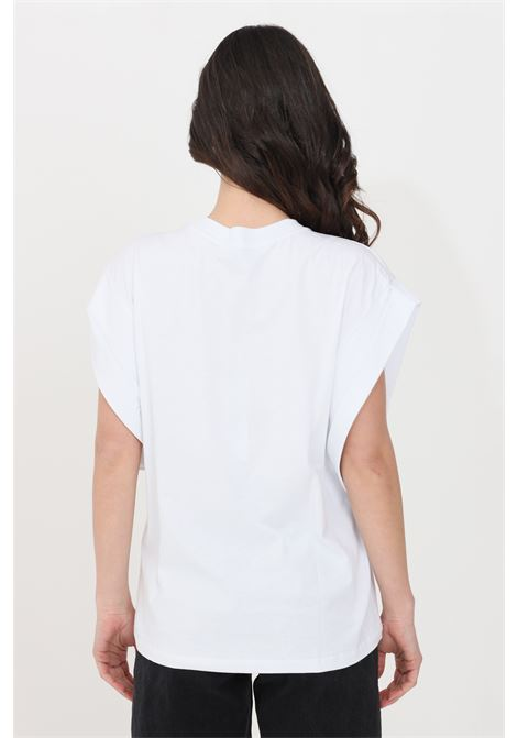 T-shirt donna bianco gaelle smanicato GAELLE | T-shirt | GBD8679BIANCO