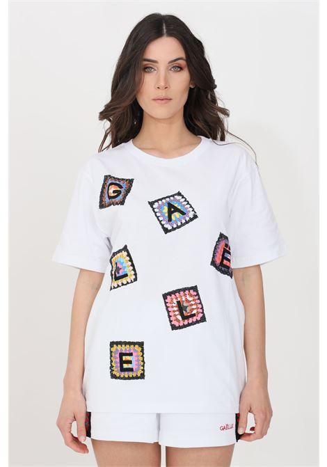 White t-shirt short sleeve gaelle GAELLE | T-shirt | GBD8762BIANCO