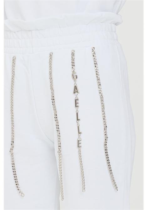 White women's trousers gaelle GAELLE | Pants | GBD8791BIANCO