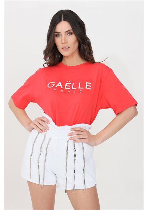 T-shirt donna fragola gaelle a manica corta GAELLE | T-shirt | GBD8813FRAGOLA