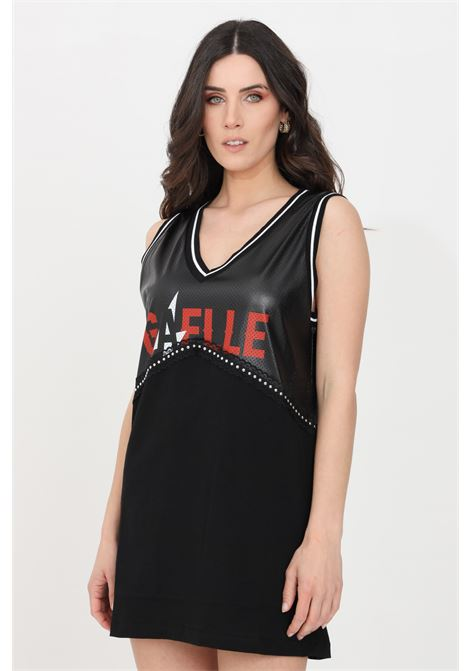 Black casual top gaelle GAELLE | Top | GBD8844NERO