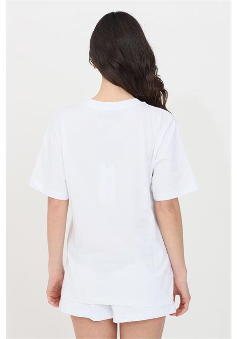 T-shirt donna bianco gaelle manica corta GAELLE | T-shirt | GBD8851BIANCO