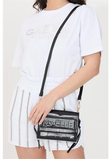 Marsupio donna gaelle con trasparenze e cintura regolabile GAELLE | Marsupi | GBDA2302NERO