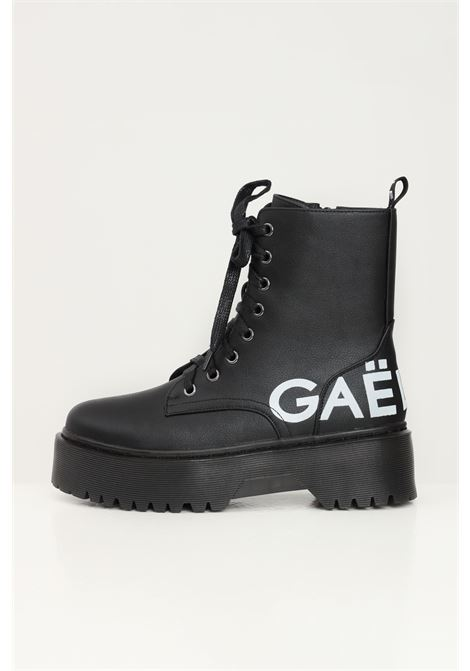 Black women's combat ankle boot by gaelle GAELLE | Ankle boots | GBDS2262NERO