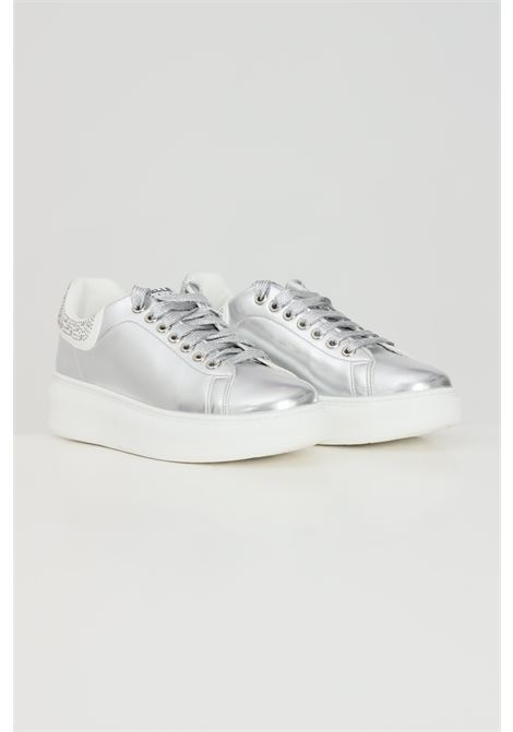 Sneakers donna argento gaelle GAELLE | Sneakers | GBDS2291SILVER