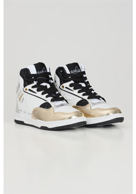 Sneakers donna bianco gaelle GAELLE | Sneakers | GBDS2293GOLD