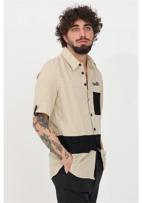 Sand casual shirt gaelle GAELLE | Shirt | GBU3556SABBIA