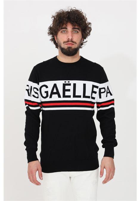 Black crew neck sweater gaelle GAELLE | Knitwear | GBU3575NERO