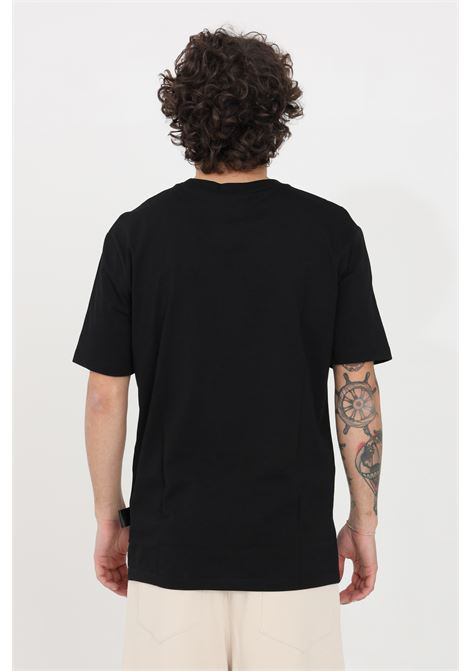 Black t-shirt short sleeve gaelle GAELLE | T-shirt | GBU3725NERO