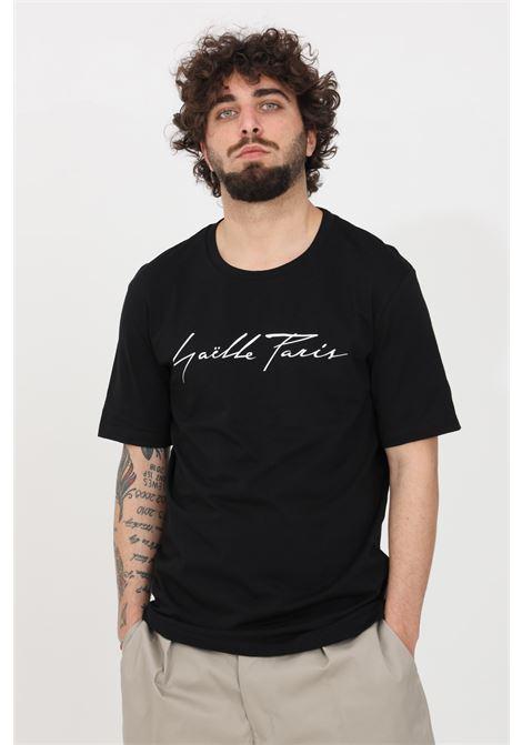 Black t-shirt short sleeve gaelle GAELLE | T-shirt | GBU3782NERO