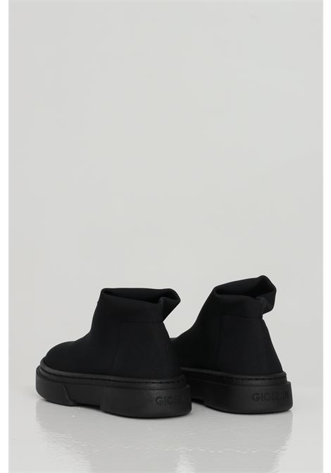 Black sneakers, boot model without laces. Baby model. Brand: Gioselin GIOSELIN | Sneakers | LIGHT-230FNKNERO-NERO