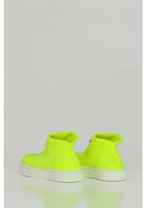 Yellow sneakers, boot model without laces. Baby model. Brand: Gioselin GIOSELIN | Sneakers | LIGHT-230KGIALLO-FLUO