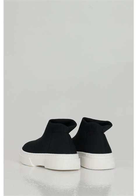 Black sneakers, boot model without laces. Baby model. Brand: Gioselin GIOSELIN | Sneakers | LIGHT-230KNERO