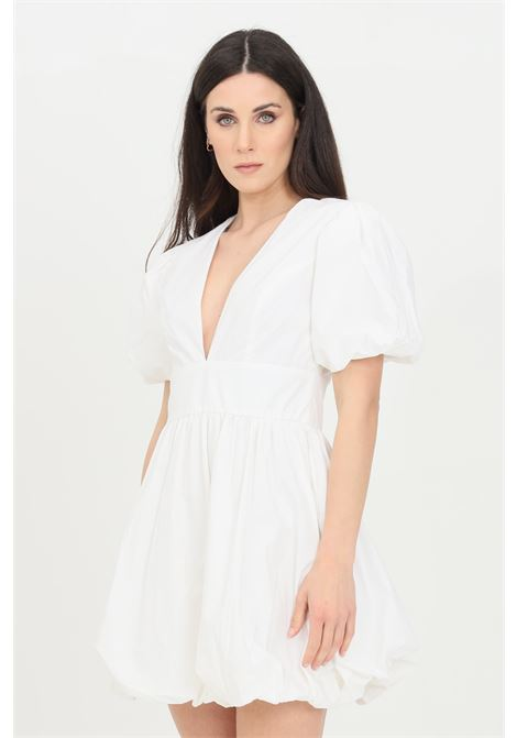 White short dress in solid color. Glamorous GLAMOROUS | Dress | GC0417WHITE