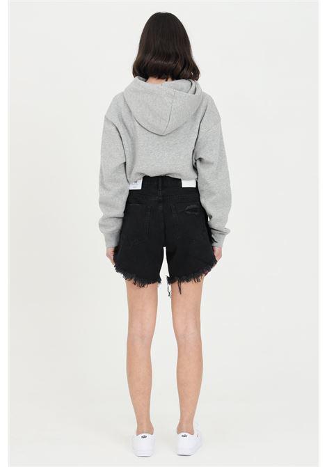 Shorts donna bianco Glamorous casual a vita alta GLAMOROUS | Shorts | KA6744WASHED BLACK