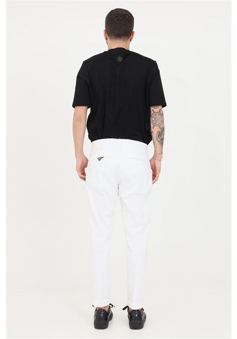 White trousers, elegant model. Slim fit. Golden craft GOLDEN CRAFT | Pants | GC1PSS215880A001