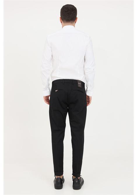 Black trousers, elegant model. Slim fit. Golden craft GOLDEN CRAFT | Pants | GC1PSS215880D001