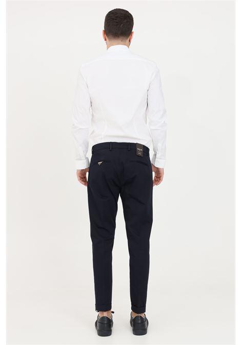 Blue trousers, elegant model. Slim fit. Golden craft GOLDEN CRAFT | Pants | GC1PSS215880E044