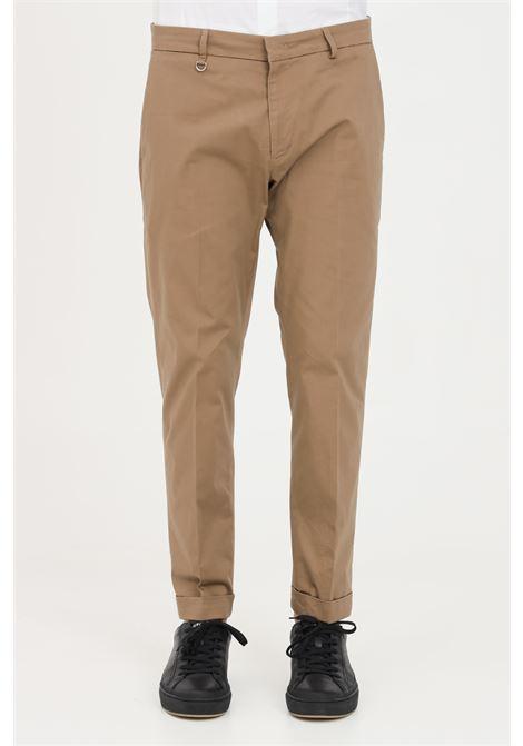 Brown trousers, elegant model. Slim fit. Golden craft GOLDEN CRAFT | Pants | GC1PSS215880M067