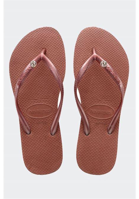 HAVAIANAS | Flip flops | 40000302106BRONZE NUDE