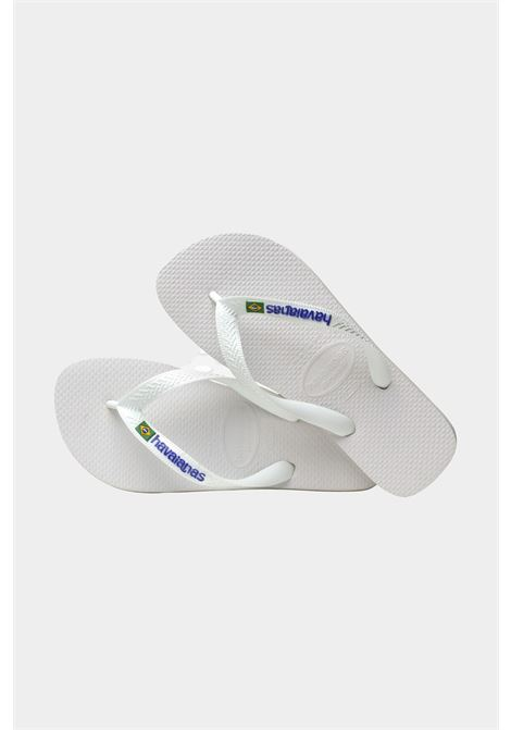 Infradito h brasil logo fc unisex bianco havanaias HAVAIANAS | Infradito | 4110850.0001.F130001